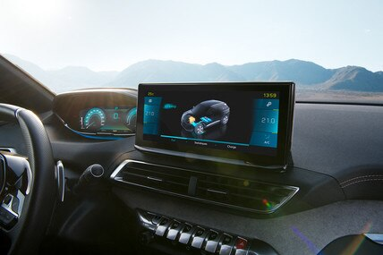 "Novi SUV PEUGEOT 3008 HYBRID- Novi 10"" HD ekran na dodir"